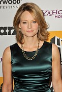 Jodie Foster Prints - Jodie Foster At Arrivals For 14th Print by Everett
