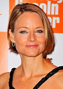Bobbed Hair Framed Prints - Jodie Foster At Arrivals For Carnage Framed Print by Everett