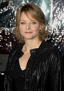 Jodie Foster Prints - Jodie Foster At Arrivals For Edge Of Print by Everett