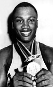 Boxer Art - Joe Frazier Holding Olympic Heavyweight by Everett