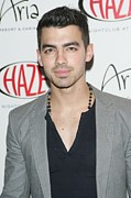 Aria Framed Prints - Joe Jonas In Attendance For Joe Jonas Framed Print by Everett