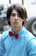 The Shoot Framed Prints - Joe Jonas On Location For The Jonas Framed Print by Everett