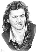 Joe Lando Print by Murphy Elliott