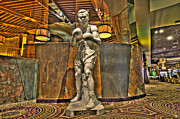 Party Digital Art - Joe Louis in Las Vegas by Nicholas  Grunas