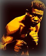 Boxer Digital Art - Joe Louis by Terry Collett
