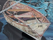 Wooden Pastels - Joe by Terri Thompson