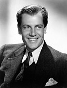 Mccrea Framed Prints - Joel Mccrea, 1936 Framed Print by Everett