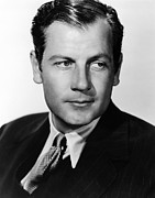 Mccrea Prints - Joel Mccrea, Ca. 1940s Print by Everett