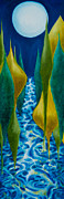 Natural World Paintings - Joels River by Eliza Furmansky