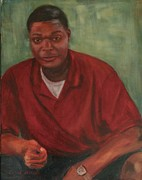 African-american Paintings - Joey by Carol Berning