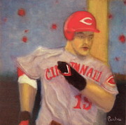 Cincinnati Paintings - Joey Votto by Joe Pearce