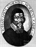 Educator Posters - Johann Amos Comenius, Czech Educator Poster by Photo Researchers