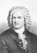 18th Century Photos - Johann S. Bach (1685-1750) by Granger