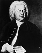 1700s Photos - Johann Sebastian Bach 1685-1750, German by Everett