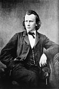 1833 Art - Johannes Brahms, German Composer by Omikron