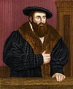 Johannes Kepler, German Astronomer Print by Maria Platt-evans