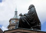 Johannes Kepler Monument, Germany Print by Detlev Van Ravenswaay