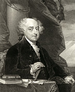 Adams Framed Prints - John Adams - Second President of The United States of America Framed Print by International  Images