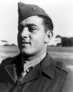 Navy Digital Art Prints - John Basilone Print by War Is Hell Store