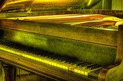 Grand Piano Prints - John Broadwood and Sons Piano Print by Semmick Photo