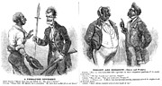 Abolition Prints - John Brown Cartoon, 1859 Print by Granger
