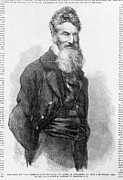 1850s Prints - John Brown. Detail Of Front Page Print by Everett