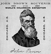 1850s Prints - John Brown. Detail Of John Brown Print by Everett