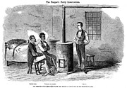 Smoker Framed Prints - John Brown Raid, 1859 Framed Print by Granger