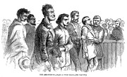 Abolition Prints - John Brown Trial, 1859 Print by Granger