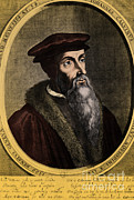 Clergyman Photos - John Calvin, French Theologian by Omikron