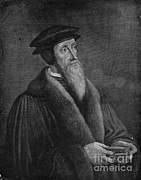 Clergyman Photos - John Calvin, French Theologian by Photo Researchers, Inc.