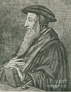 Clergyman Photos - John Calvin, French Theologian by Photo Researchers