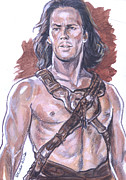 Carter Painting Originals - John Carter by Bryan Bustard