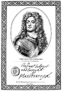 Kneller Framed Prints - John Churchill (1650-1722) Framed Print by Granger