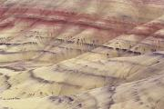 Stripe.paint Posters - John Day Fossil Beds Poster by Greg Vaughn - Printscapes