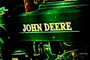 John Deere Framed Prints - John Deere 2 Framed Print by Cheryl Young