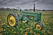 John Deere Framed Prints - John Deere 2 Framed Print by Williams-Cairns Photography LLC
