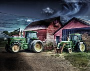 Hay Originals - John Deere Family by Arnie Goldstein