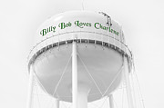 Water Tower Photos - John Deere Green by Andee Photography