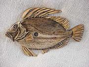 Landscapes Reliefs - John Dory Fish-SOLD by Lisa Ruggiero