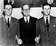 Tie Pin Posters - John F., Joseph, Joe Kennedy, Jr., Ca Poster by Everett