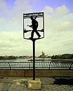 East River Photos - John Finley Walk II by Madeline Ellis
