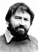 British Portraits Prints - John Fowles, Ca. 1970s, Photo Credit J Print by Everett