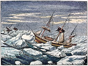 Erebus Photos - John Franklins Expedition by Granger