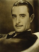 Actors Prints - John Gilbert 1899-1936, Silent Screen Print by Everett