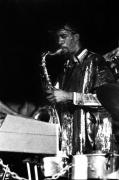 Sun Ra Arkestra Photos - John Gilmore by Lee  Santa