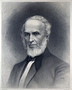 Abolition Posters - John Greenleaf Whittier 1807-1892 Poster by Everett