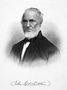 Greenleaf Prints - John Greenleaf Whittier Print by Granger