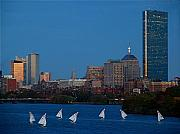 Boston Skyline Art - John Hancock Building by Juergen Roth