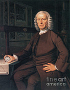 Technical Posters - John Harrison, English Inventor Poster by Photo Researchers